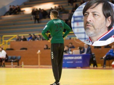 Matej Mandić mladi vratar Izviđača CO kuca na vrata reprezentacije Hrvatske