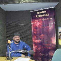Toni Čolina u programu Radija Ljubuški – audio