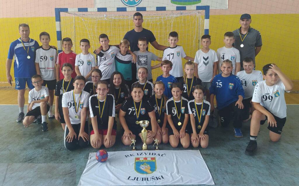 Rukometašice rođene 2010. prvakinje BiH, rukometaši peti